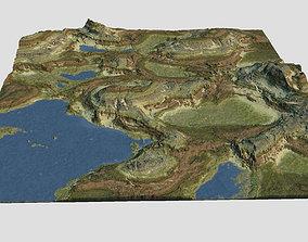 3D Canyon Terrain MTH150