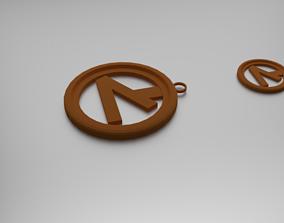 Semi Squares Pendant 3D printable model