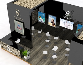 3D Exhibition Stand Booth Design