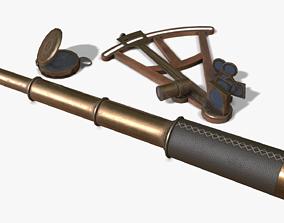 Old Nautical Tools 3D model