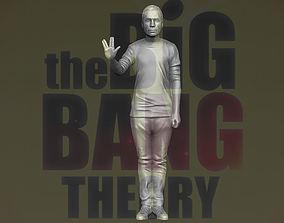 Sheldon Cooper Big Bang Theory 3D printing ready stl 1