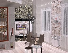 architecture interior design 3D