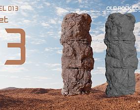 Old Rock Column v1 3D model