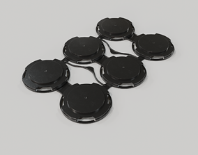 6-Pack - Snap Ring - Can Carrier 3D