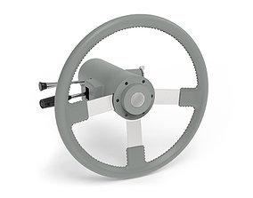 Steering Wheel Classic 3D model