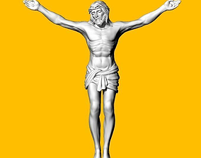 brooches 3D print model JESUS