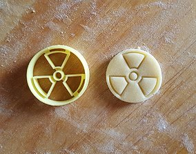 Radioactive cookie cutter 3D print model