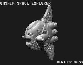 3D printable model Moonship - Space explorer