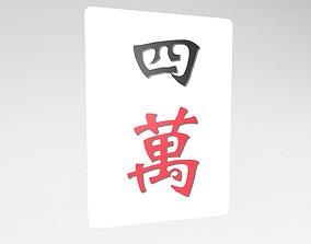 3D model Mahjong v1 004
