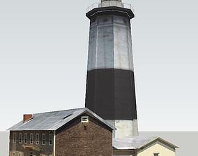 Montauk Point Lighthouse 3D