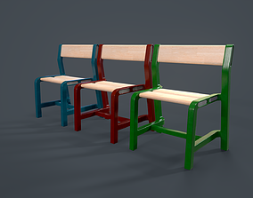 3D model IKEA CHAIR YPPERLIG child chair PBR Game