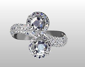 Ring 2 Stone 3D printable model
