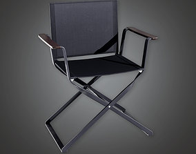 3D asset HLW - Production Chair 01 - PBR Game Ready