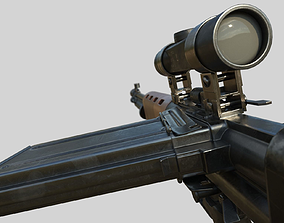 3D model FG-42 German Paratrooper Rifle PBR