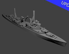 British Crown Colony Class Cruiser 3D print model