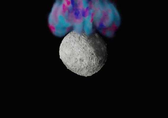 Inking the moon