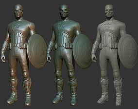 Captain America 3D Print Model spiderman