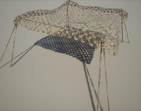 3D model Military Net Tent