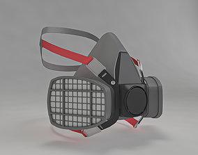 3D model Safety Respiratory Mask