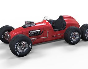 3D model Upgraded Pat Clancy Special six-wheeler