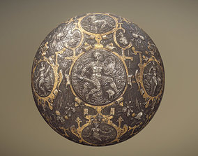 Pageant Shield 16th century 2 3D model