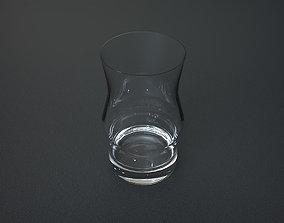 Small Drinking Glass 3D asset