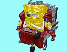 Spongebob Squarepants 3D Model STL file for 3D Printing