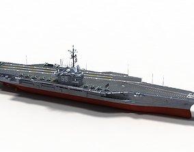 USS Forrestal CV-59 3D