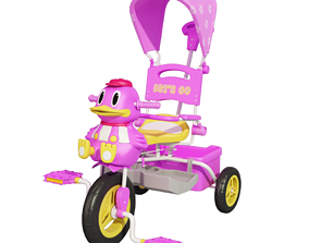 3D Duck Tricycle tricycle