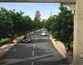 Chinese classical garden 002 3D model