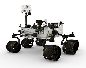 3D asset Rover Curiosity
