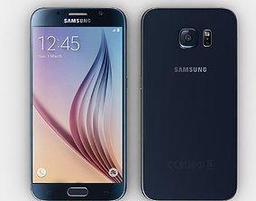 Samsung Galaxy S6 Black 3D model