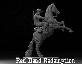 Red Dead Redemption 3D Print