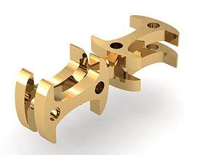 3D print model Eslabon para cadenas chain link E2016-59