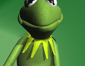 3D asset Kermit The Frog Rigged