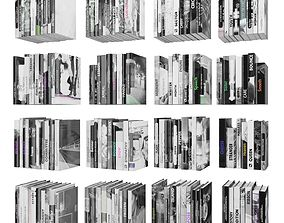 Books 150 pieces 2-9-4 3D asset