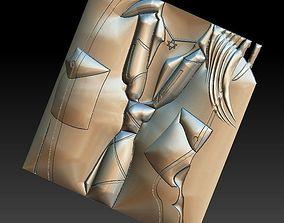 3D print model No 8 Women tie