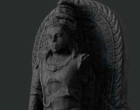 3D model Low Poly PBR Shiva Statue