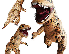 Inflatable T-Rex Costume 3D