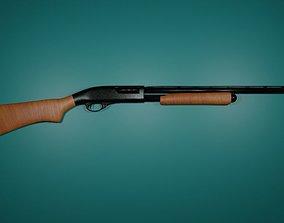 Remington 870 - Pump-action Shotgun 3D model