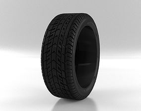 3D model included Car tire