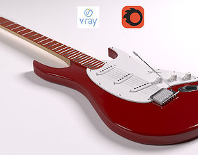 Guitar Fender 3D model