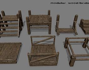 Wood Bridge 1 3D model