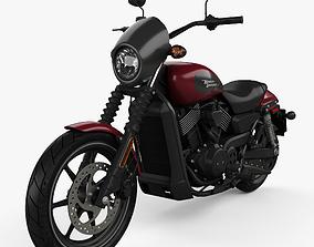 3D model Harley-Davidson Street 750 2018