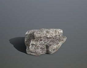 mount rocks 3D model realtime