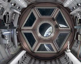 Space shuttle interior 3D model