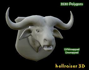 Buffalo Head 3D model