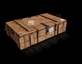 Ammo Crate- Loot Crate - Wood 3D asset