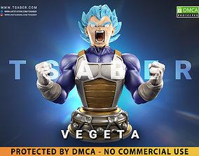 Vegeta Bust - Anime Dragon Ball Z 3D printable model