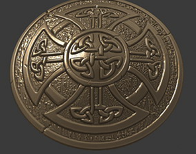 celtic shield 3d print model